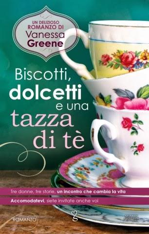 Biscotti, dolcetti e una tazza di tè