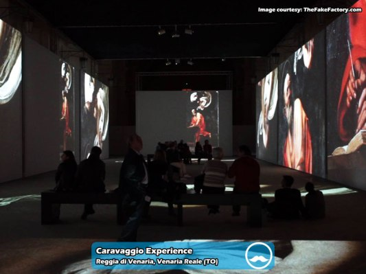 Caravaggio-Experience-Venaria-Reale 1