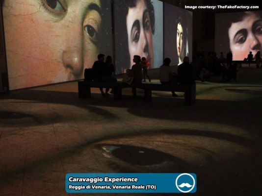Caravaggio-Experience-Venaria-Reale 2