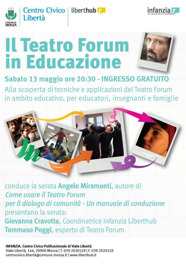 Il Teatro Forum in Educazione_Locandina 1
